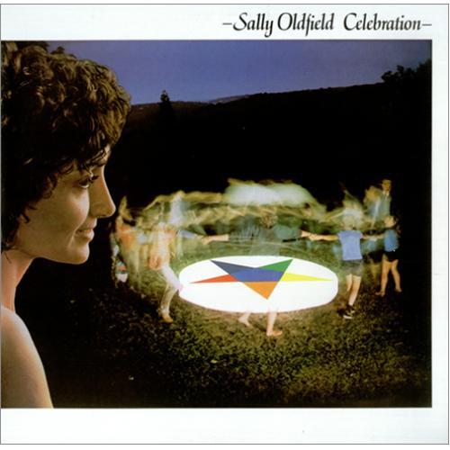Sally Oldfield Celebration vinyl LP album (LP record) Australian SALLPCE420638