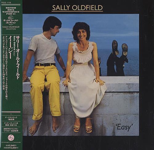 Sally Oldfield Easy CD album (CDLP) Japanese SALCDEA388103