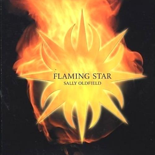 Sally Oldfield Flaming Star CD album (CDLP) UK SALCDFL194508