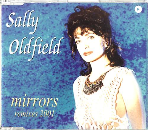 "Sally Oldfield Mirrors - Remixes 2001 CD single (CD5 / 5"") Spanish SALC5MI291000"