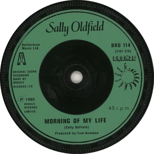 "Sally Oldfield Morning Of My Life 7"" vinyl single (7 inch record) UK SAL07MO727767"