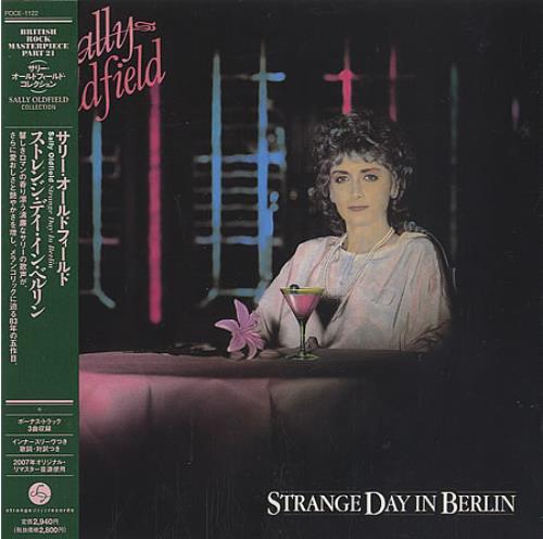 Sally Oldfield Strange Day In Berlin CD album (CDLP) Japanese SALCDST388109