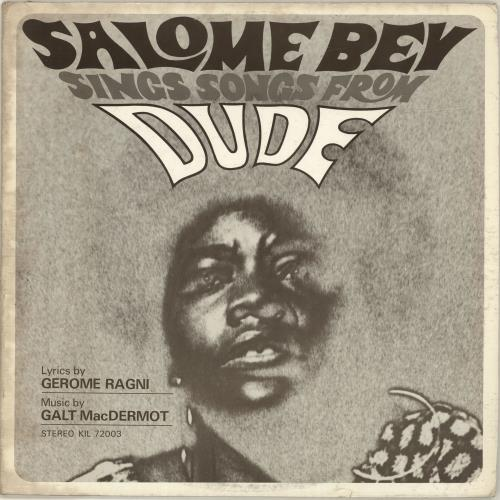 Salome Bey Salome Bey Sings Songs From Dude vinyl LP album (LP record) US YDULPSA698660