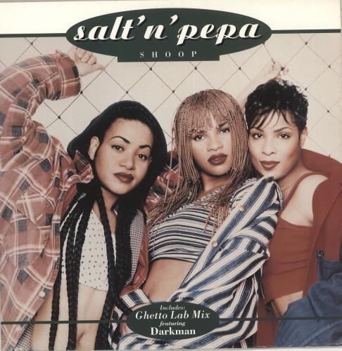 "Salt N Pepa Shoop 12"" vinyl single (12 inch record / Maxi-single) UK S-P12SH162318"
