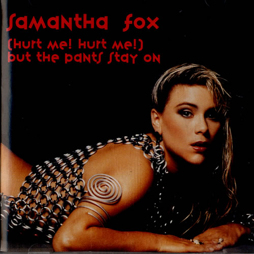 "Samantha Fox Hurt Me! Hurt Me! CD single (CD5 / 5"") US FOXC5HU117593"