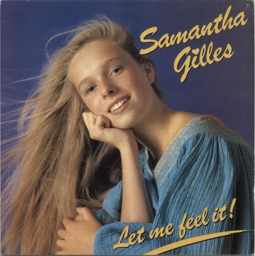 "Samantha Gilles Let Me Feel It 12"" vinyl single (12 inch record / Maxi-single) UK Z8412LE725669"