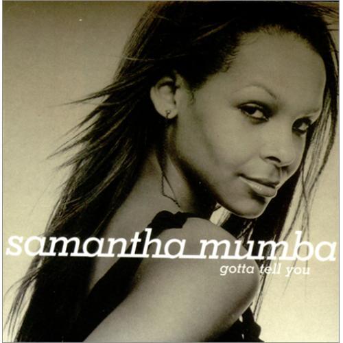 Samantha Mumba Gotta Tell You CD album (CDLP) UK SBACDGO168286