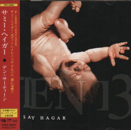 Sammy Hagar Ten 13 CD album (CDLP) Japanese HGACDTE258254