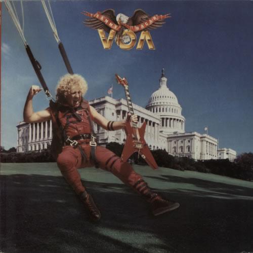 Sammy Hagar VOA vinyl LP album (LP record) UK HGALPVO602639