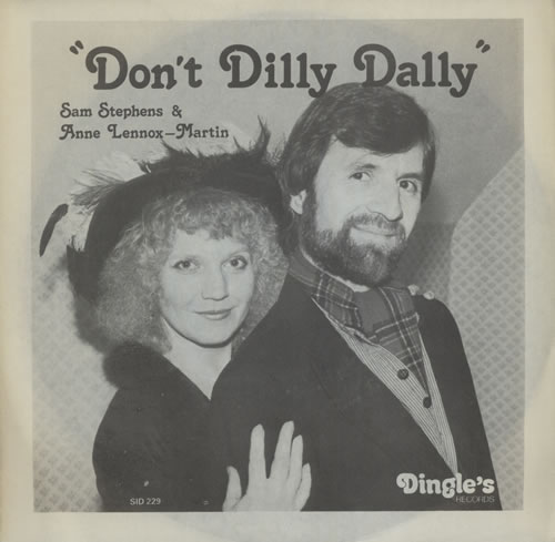 "Sam Stephens & Anne Lennox-Martin Don't Dilly Dally 7"" vinyl single (7 inch record) UK VD607DO570246"