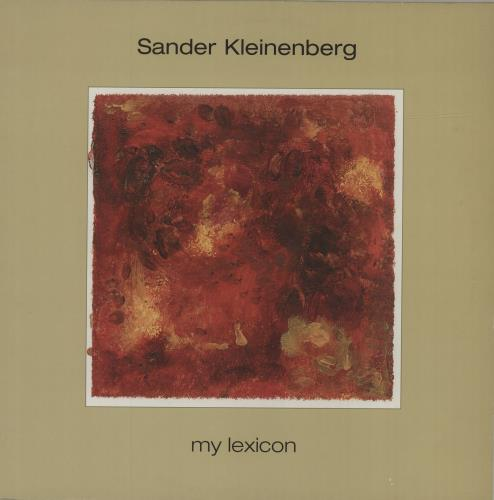 "Sander Kleinenberg My Lexicon 12"" vinyl single (12 inch record / Maxi-single) UK YCN12MY680309"