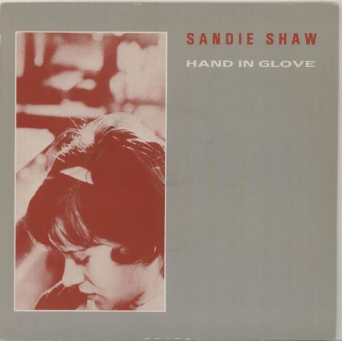 "Sandie Shaw Hand In Glove 7"" vinyl single (7 inch record) UK SDI07HA00118"