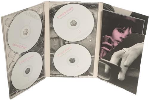 Sandie Shaw Nothing Comes Easy 4-CD album set UK SDI4CNO307152