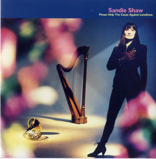 """Sandie Shaw Please Help The Cause Against Loneliness 7"""" vinyl single (7 inch record) UK SDI07PL254822"""