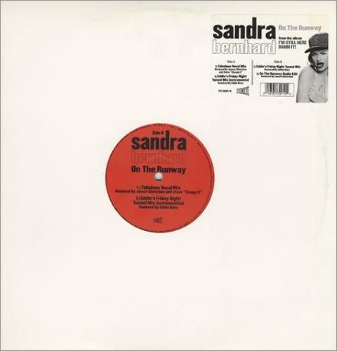 "Sandra Bernhard On The Runway 12"" vinyl single (12 inch record / Maxi-single) US SBD12ON260467"