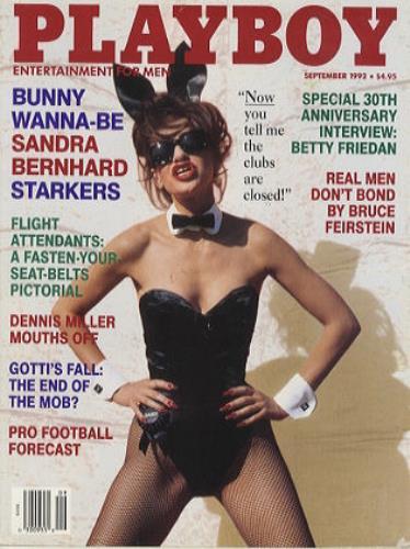 Sandra Bernhard Playboy magazine US SBDMAPL201061