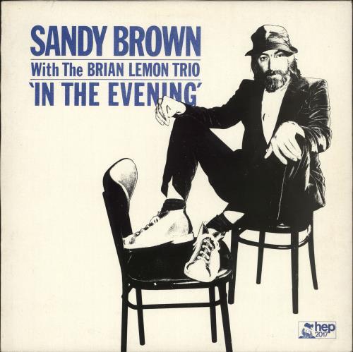Sandy Brown In The Evening vinyl LP album (LP record) UK S43LPIN708453