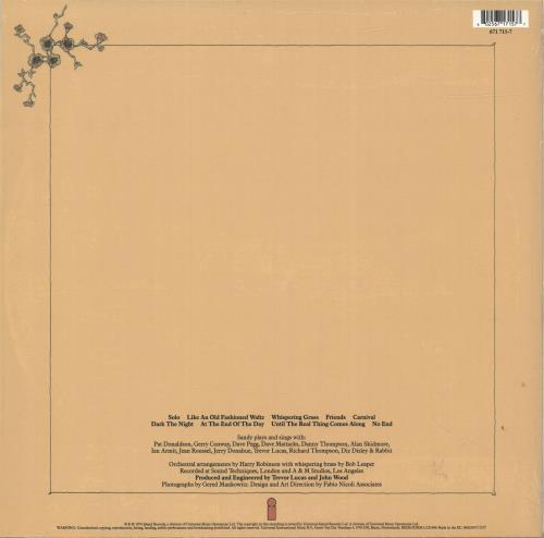 Sandy Denny Like An Old Fashioned Waltz - RSD18 - 180gram Clear Vinyl - Sealed vinyl LP album (LP record) UK SNYLPLI694961