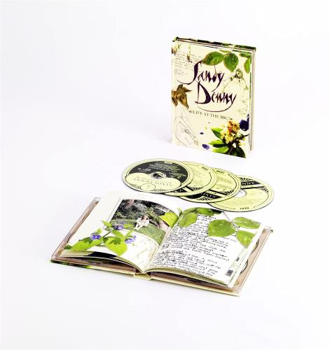 Sandy Denny Live At The BBC CD Album Box Set UK SNYDXLI747980