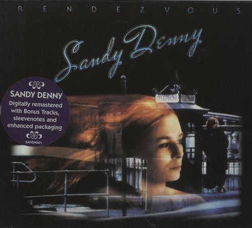 Sandy Denny Rendezvous CD album (CDLP) UK SNYCDRE759835