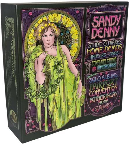 Sandy Denny Sandy Denny CD album (CDLP) UK SNYCDSA523153