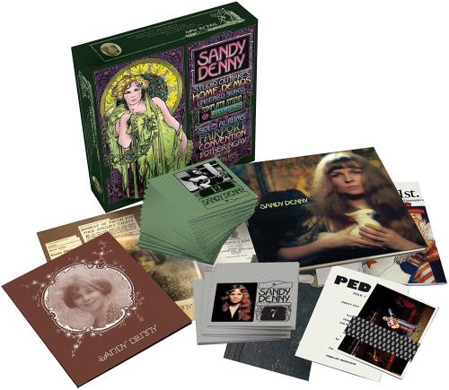 Sandy Denny Sandy Denny CD Album Box Set UK SNYDXSA523153