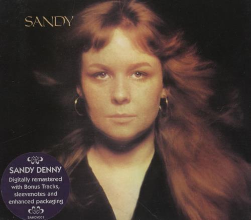 Sandy Denny Sandy CD album (CDLP) UK SNYCDSA759832