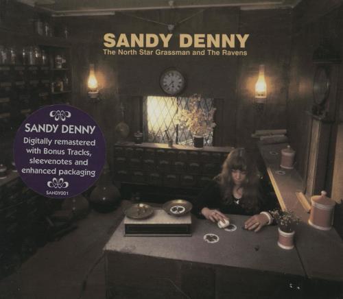Sandy Denny The North Star Grassman And The Ravens CD album (CDLP) UK SNYCDTH257010