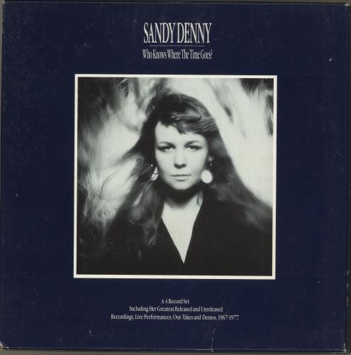 Sandy Denny Who Knows Where The Time Goes? - EX Vinyl Box Set US SNYVXWH707531
