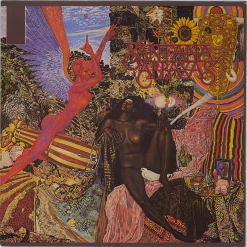 Santana Abraxas - Red Label vinyl LP album (LP record) Dutch SNTLPAB724631