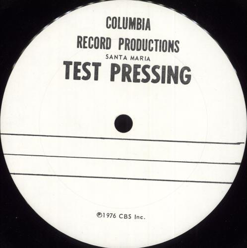 Santana Amigos - Quad - Test Pressing vinyl LP album (LP record) US SNTLPAM717665