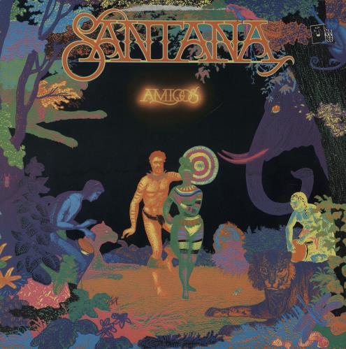 Santana Amigos vinyl LP album (LP record) Dutch SNTLPAM624729