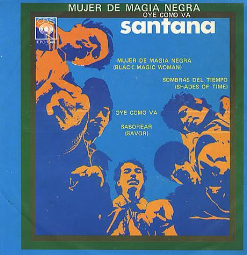 santana black magic woman single version