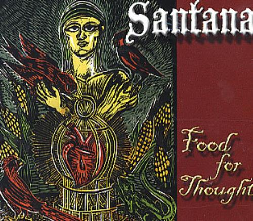 Santana Food For Thought CD album (CDLP) US SNTCDFO297659
