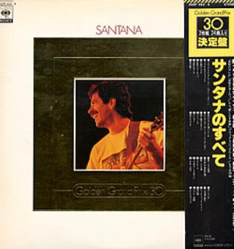 Santana Golden Grand Prix 30 2-LP vinyl record set (Double Album) Japanese SNT2LGO211139