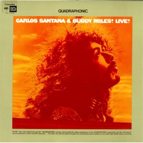 Santana Live Quadraphonic Sealed Us Vinyl Lp Album