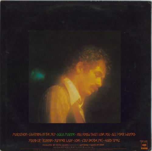 Santana Marathon vinyl LP album (LP record) Singapore SNTLPMA770513