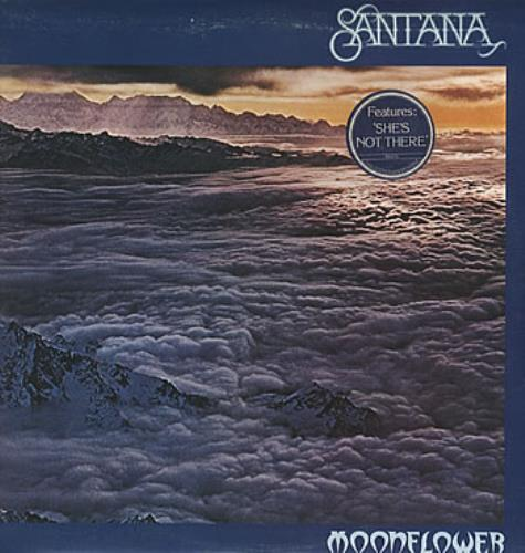 Santana Moonflower - Stickered Sleeve 2-LP vinyl record set (Double Album) UK SNT2LMO171427