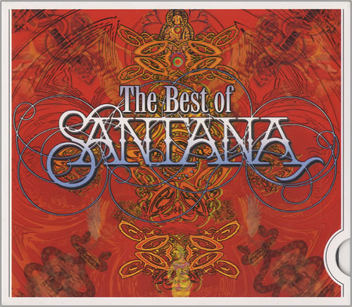 Santana The Ultimate Collection: Santana The Best Of Santana German CD Album (CDLP) (456189