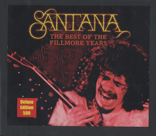 Santana The Ultimate Collection: Santana The Best Of The Fillmore Years US 3-CD Album Set