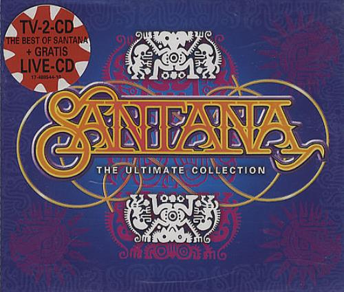 Santana The Ultimate Collection Dutch 3 Cd Album Set