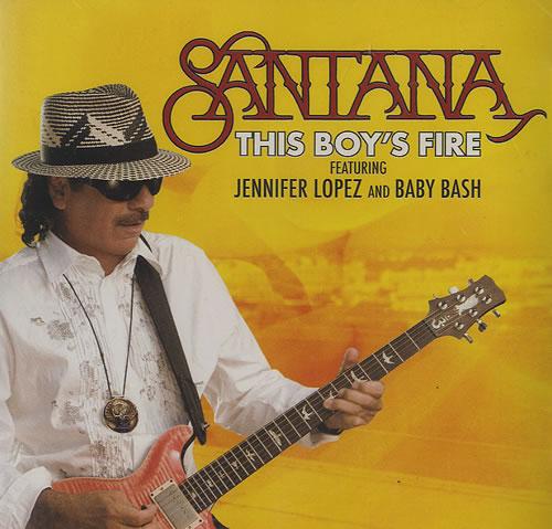 "Santana This Boy's Fire CD single (CD5 / 5"") US SNTC5TH439408"