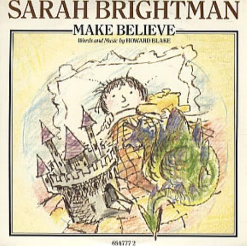 "Sarah Brightman Make Believe CD single (CD5 / 5"") UK SAHC5MA311546"
