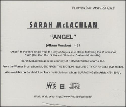 cd sarah mclachlan angel