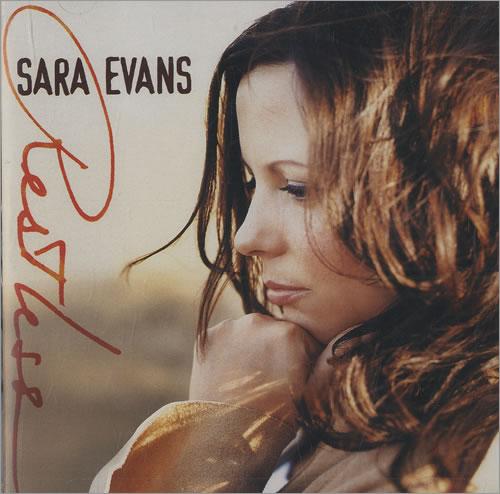 Sara Evans Restless CD album (CDLP) US RNSCDRE434944