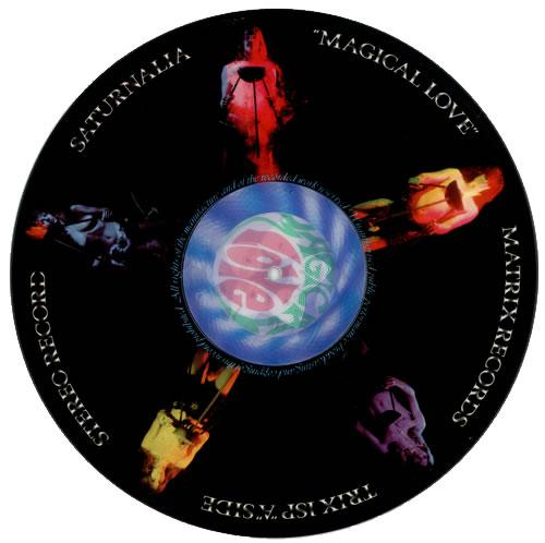 Saturnalia Magical Love picture disc LP (vinyl picture disc album) UK ST9PDMA352580