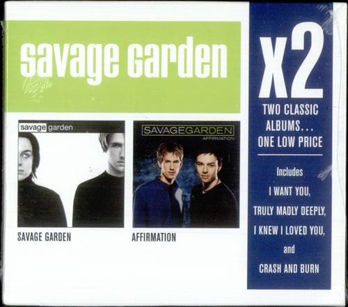 Savage Garden x2 - Savage Garden / Affirmation - Sealed US 2 CD ...