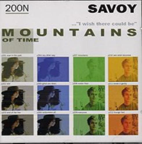 Savoy (A-Ha) Mountains Of Time CD album (CDLP) German SAVCDMO147926