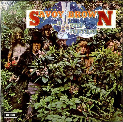 Savoy Brown A Step Further - 1st - VG/EX vinyl LP album (LP record) UK SVBLPAS500198