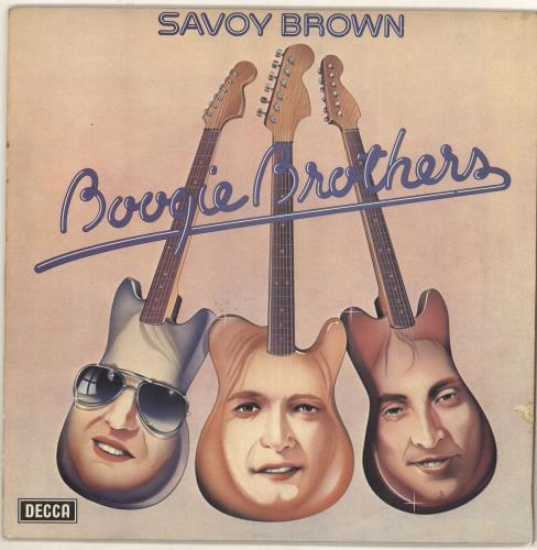 Savoy Brown Boogie Brothers - EX vinyl LP album (LP record) UK SVBLPBO722855